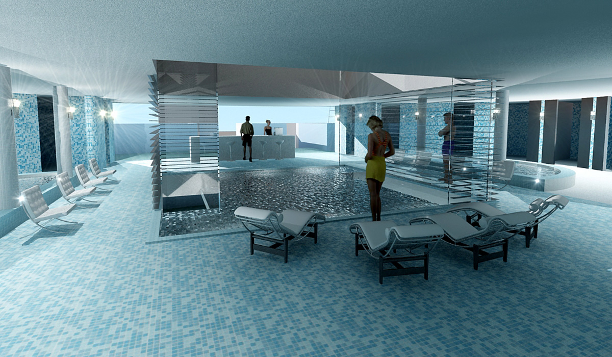 Leisure Building - Union Lido Concept design