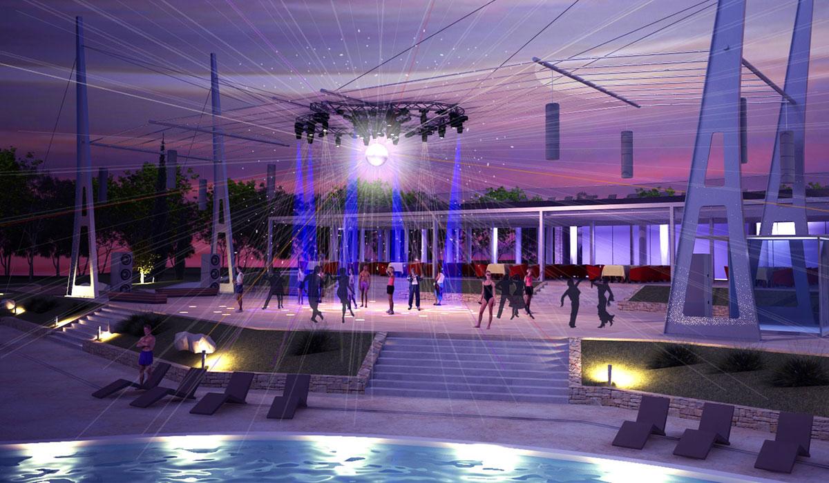 Zaton holiday resort aqua park zadar bezdikian for Hotel design zadar
