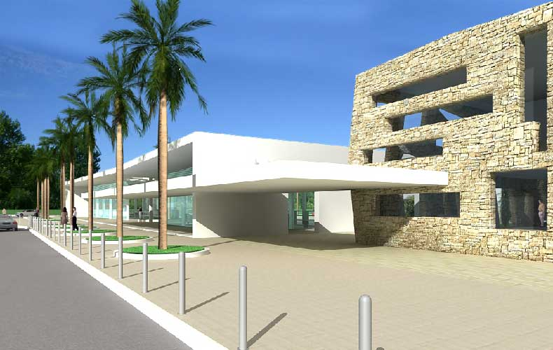 Zaton Holiday Resort - New reception & offices