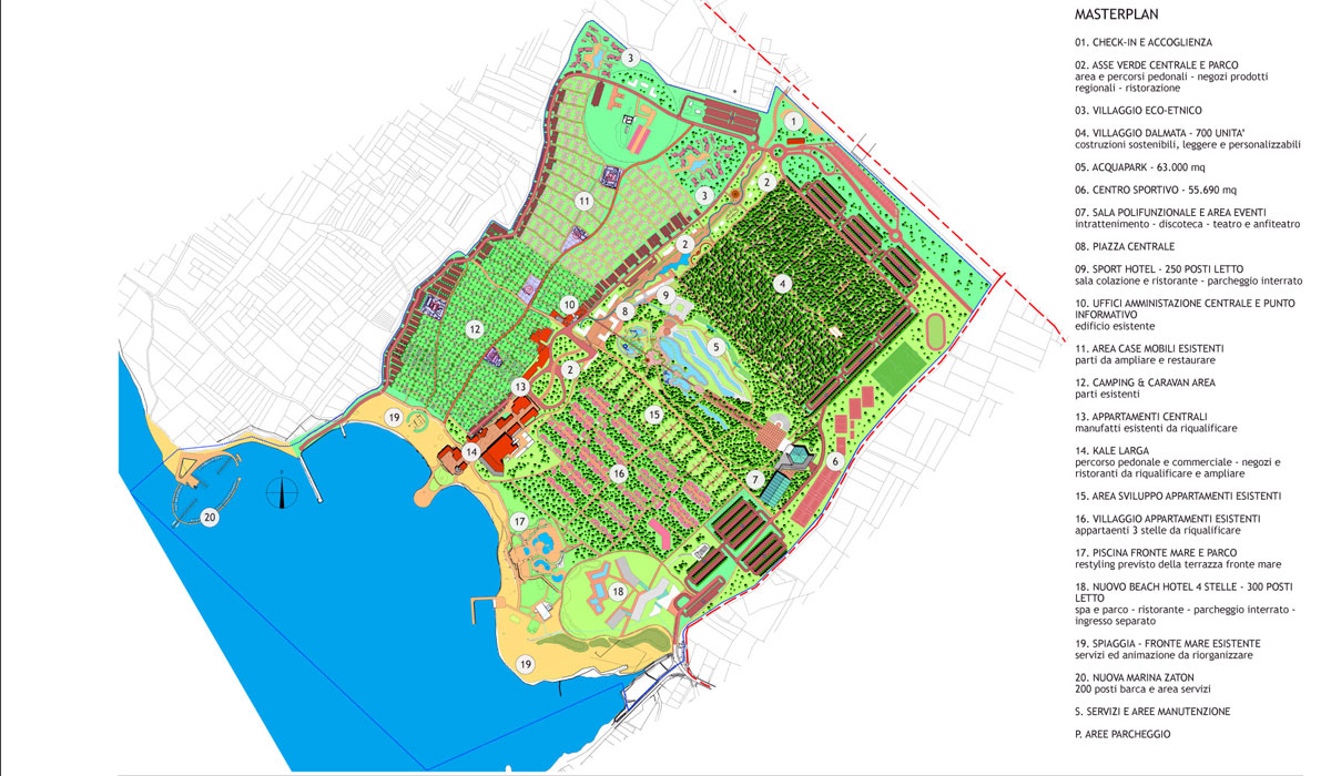 Zaton Holiday Resort - Master Plan