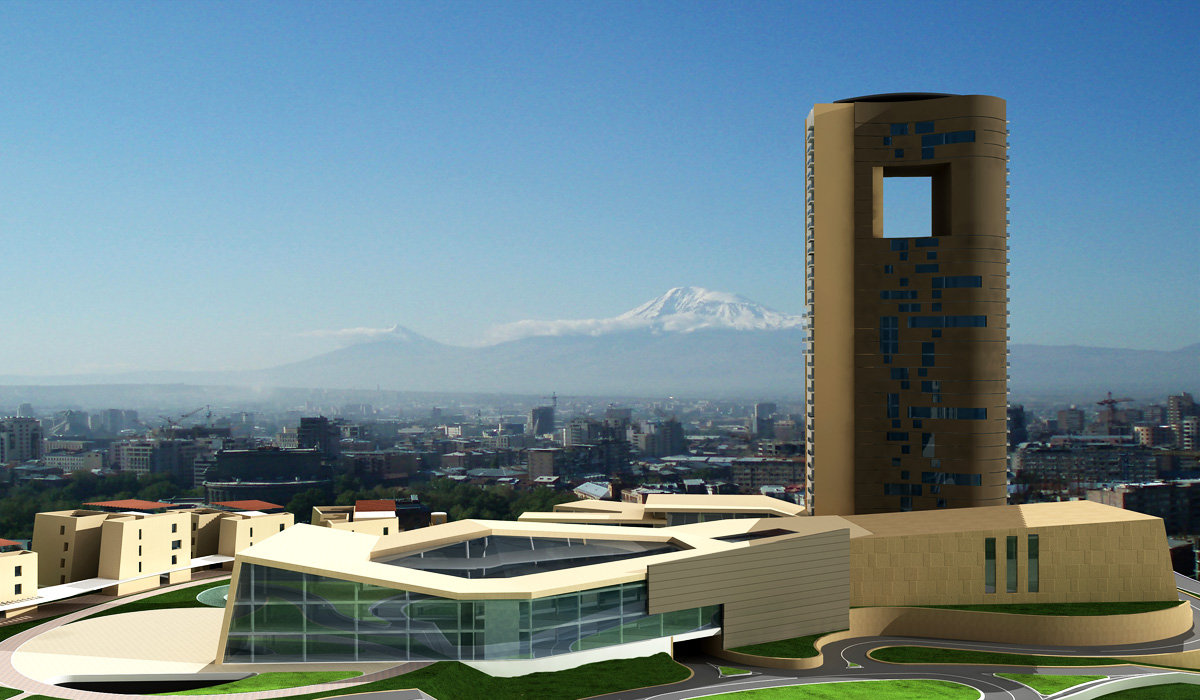 Intercontinental Hotel Yerevan Armenia