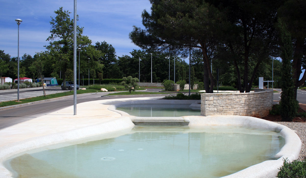 Park Umag Entrance area