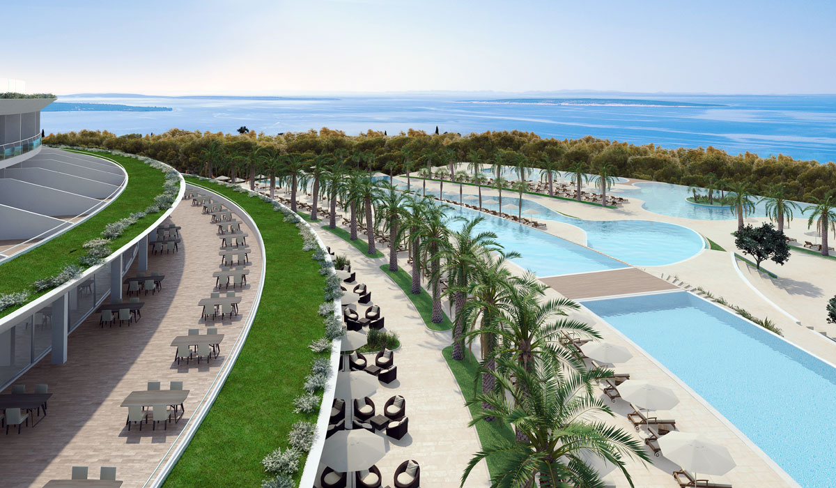 The Shell Wellness Hotel & Resort Pag Croatia